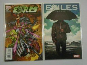 Exiles #1 A+B NM (2009 2nd Series Marvel)