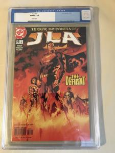 JLA #58 CGC 9.8 Mark Waid DC Comics Justice League of America