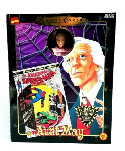 1998 Marvel Comics Famous Cover Series Aunt May 8 Action Figure