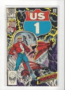 US 1 #1 Tyco Toys Marvel Comics VF