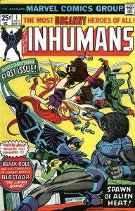 Inhumans #1 (ungraded) stock photo