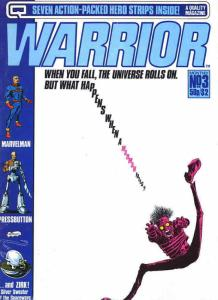 Warrior #3 FN; Fleetway Quality | save on shipping - details inside
