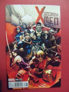 MARVEL UNCANNY X-MEN #600 LEINIL FRANCES YU VARIANT COVER