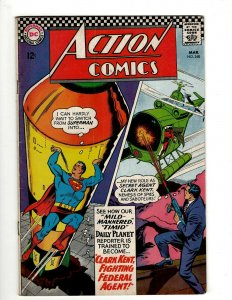 Action Comics # 348 FN DC Comic Book Superman Batman Green Lantern Flash KD1