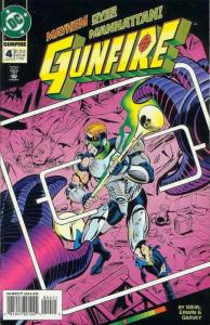 Gunfire #4 VF/NM; DC | save on shipping - details inside