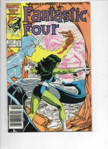 FANTASTIC FOUR #295 VF+ She Hulk, Human Torch, 1961 1986 Marvel,more FF in store