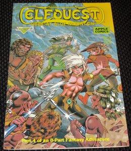 ElfQuest: Siege At Blue Mountain #4 (1987)