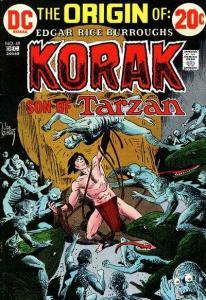 Korak: Son of Tarzan (1972 series) #49, VF- (Stock photo)