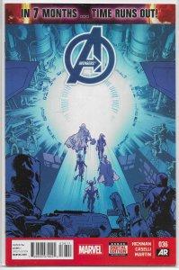 Avengers (vol. 5, 2013) # 36 VF Hickman/Caselli, Immonen cover