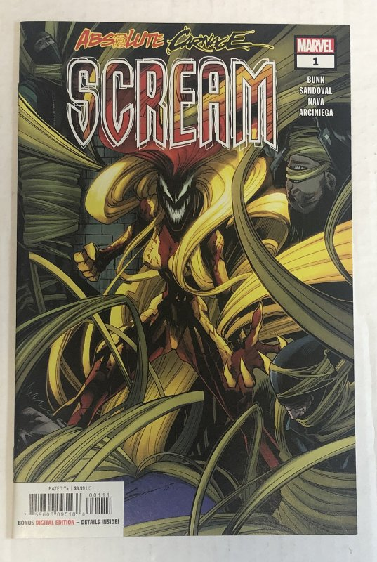 Absolute Carnage Scream #1