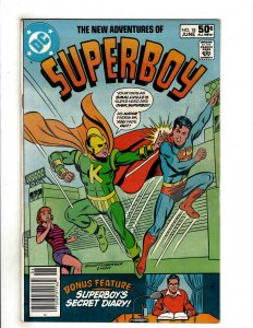 The New Adventures of Superboy #18 (1981) DC Comic Superman OF8