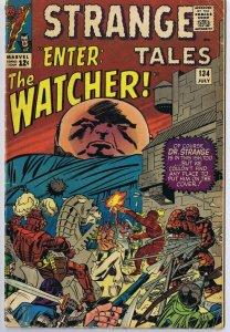 Strange Tales #134 ORIGINAL Vintage 1965 Marvel Comics The Watcher