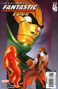 Ultimate Fantastic Four #46 FN; Marvel   save on shipping - details inside