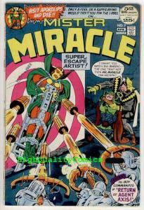 MISTER MIRACLE #7, VF, Jack Kirby ,Steve Ditko, Agent Axis, 1972, Commandos