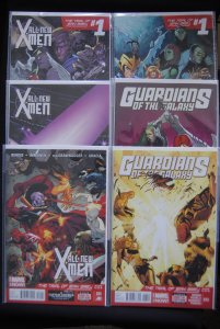 Trial of Jean Grey, 6 book lot