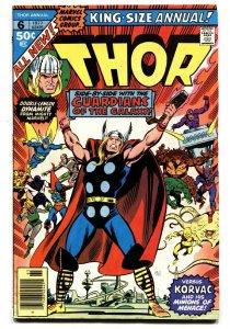 THOR ANNUAL #6-comic book GOTG!-MARVEL-High Grade VF