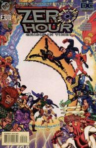 Zero Hour: Crisis in Time #2, VF+ (Stock photo)
