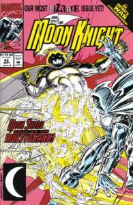 Marc Spector: Moon Knight #42, NM- (Stock photo)