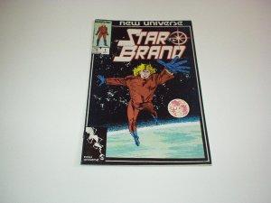 Marvel New Universe STAR BRAND Comic #1, October 1986 New, Unread