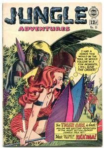 Jungle Adventures #15 1964- Golden Age Reprint- Tiger Girl VG