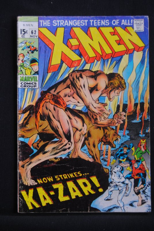 X-Men 62, Neal Adams, Roy Thomas at there best.