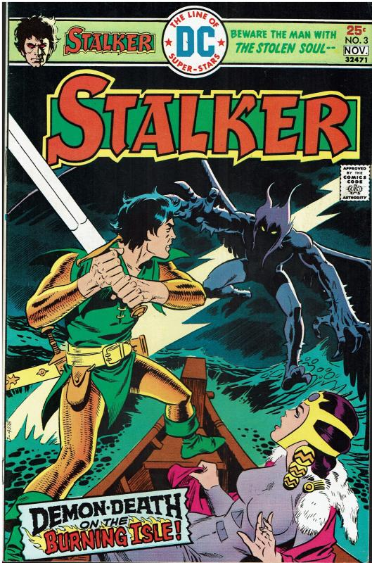 Stalker #3, 9.0 or better, Nice Copy