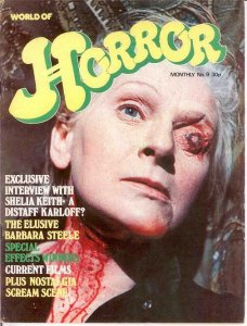 WORLD OF HORROR (1970S DALLRUTH)   9  VG