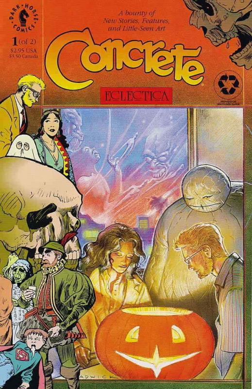 Concrete: Eclectica #1 VF/NM; Dark Horse | save on shipping - details inside