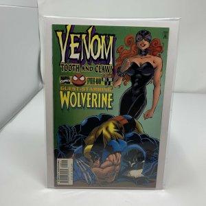 Venom Tooth & Claw #1 #2 Marvel 1996 Wolverine vs. Venom