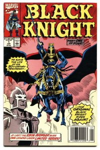 Black Knight #1 1990 -  First issue-Marvel comic book  NM-