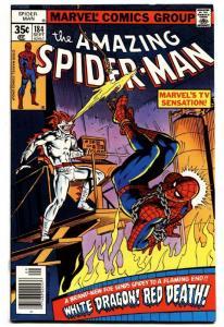 AMAZING SPIDER-MAN #184 comic book-1978-WHITE DRAGON