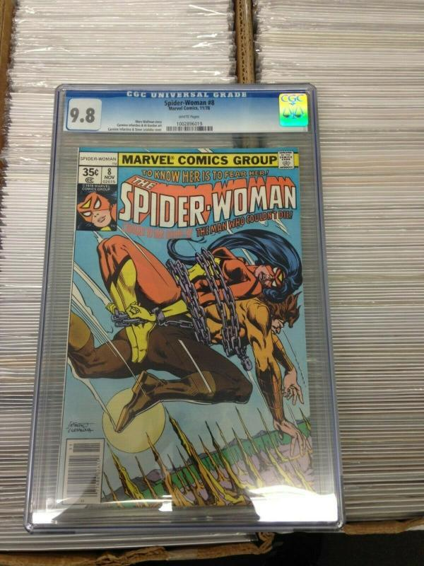 Spider-Woman 8 CGC 9.8