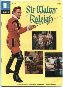 SIR WALTER RALEIGH #644-MOVIE EDITION-PHOTO CVR-DELL FOUR COLOR-1955