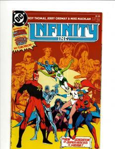 Lot of 12 Infinity Inc. DC Comic Books #1 2 7 13 14 15 16 17 18 19 20 21  JF25