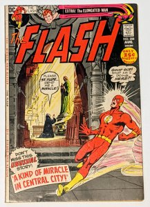 The Flash #208 (Aug 1971, DC) VG/FN 5.0 Elongated Man backup story