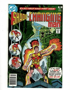 Lot Of 8 Shade The Changing Man DC Comic Books # 1 2 3 4 5 6 7 8 GK34