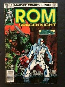 MARVEL  ROM Spaceknight #9 Beward Serpentyne!  VG/F (A26)