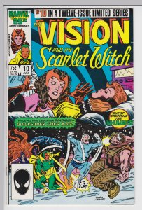 Vision and the Scarlet Witch #10   July 1986 - VF