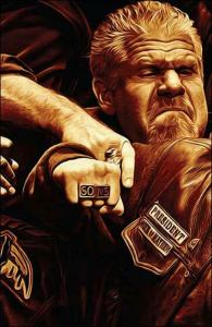 Sons of Anarchy #4B VF/NM; Boom! | save on shipping - details inside