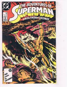 Adventures of Superman (1987) #432 DC Comic Book Lex Luthor Perry White HH3