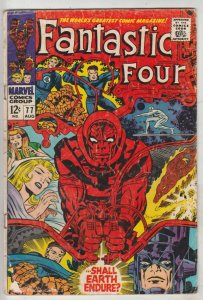 Fantastic Four #77 (Aug-68) VG Affordable-Grade Fantastic Four, Mr. Fantastic...