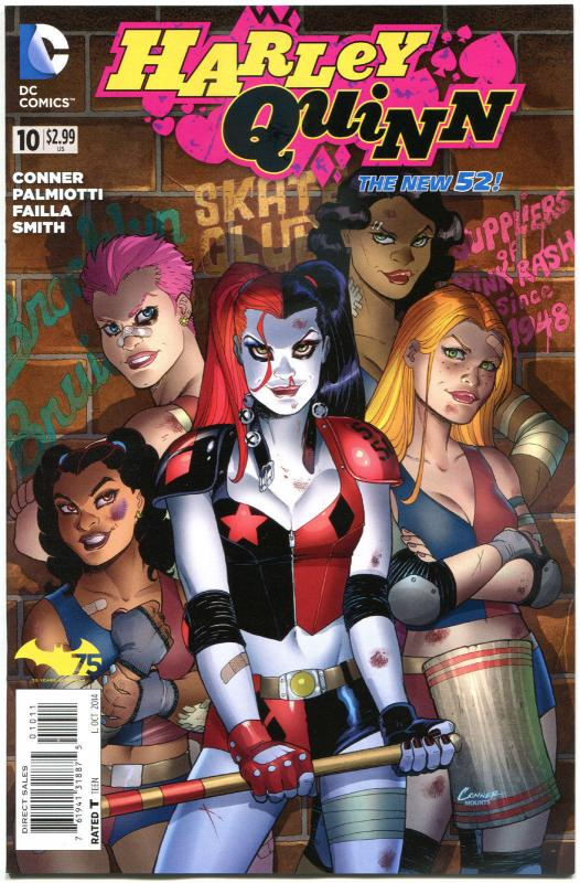 HARLEY QUINN #10, NM, New 52, Amanda Conner, Palmiotti, 2014,  more HQ in store