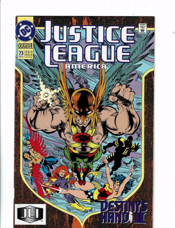 Lot of 10 Justice League America DC Comics #71 72 73 74 75 76 77 78 79 80 CB7