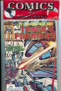 Transformers Marvel Comics 3-Pak1985 #'s 4,5, & 6-unopened-NM