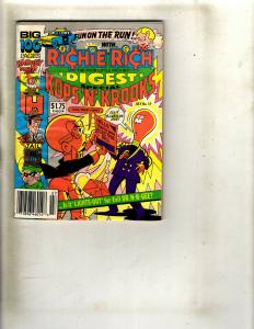 Lot of 8 Richie Rich Digest Pocket Books #1 2 4 5 12 13 17 18 WS15