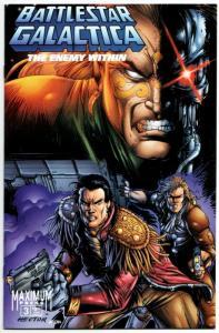 Battlestar Galactica #3 Cvr B (Maximum Press, 1996) VF/NM