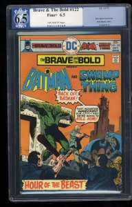 Brave And The Bold #122 PGX FN+ 6.5 Off White
