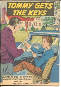 Tommy Gets The Keys 1959-BF Goodrich-safe driving promo comic-VF/NM