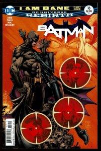 Batman #16 Rebirth (Apr 2017, DC) 0 9.2 NM-