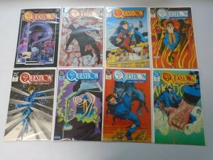 The Question run #1-32 8.0 VF (1987-89 1st Series)